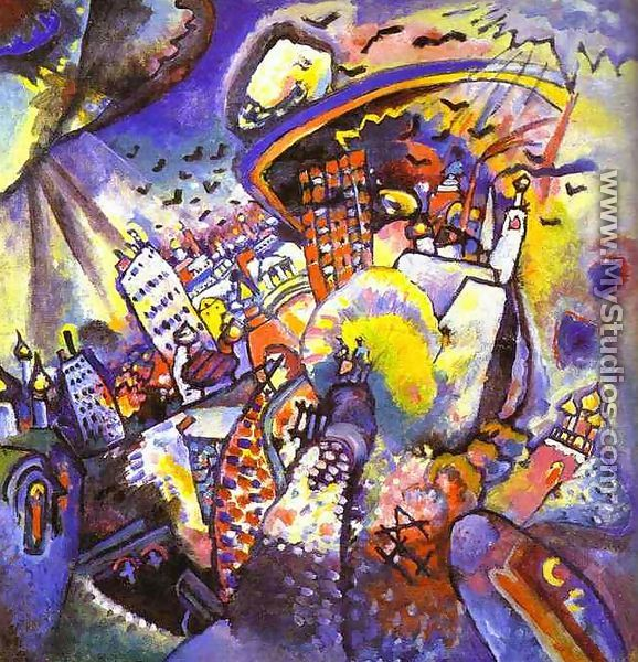moscow i by wassily kandinsky