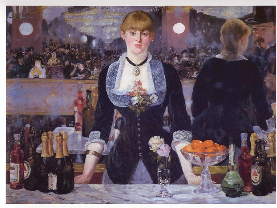 A Bar At The Folies Bergere Click here to order a handmade