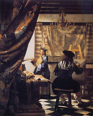Vermeer- The Art of Painting